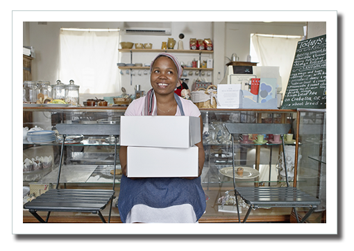 Woman Bakery Owner